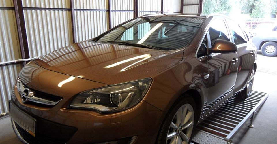 Chip tuning Opel Astra 1.4T 140KM