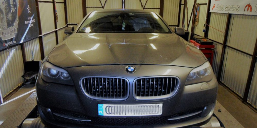 Chip Tuning BMW 525D F10