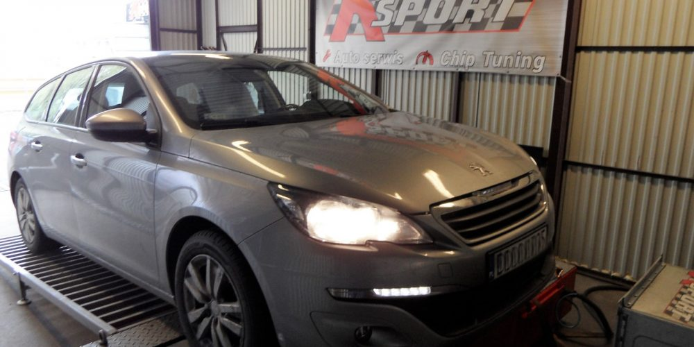 Chip Tuning Peugeot 308 1.6 HDI