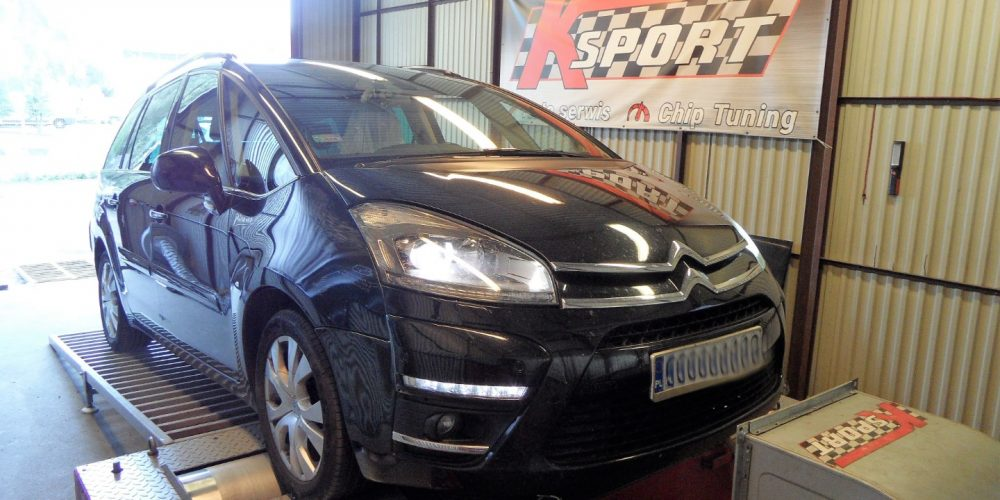 Chip Tuning Citroen C4 Grand Picasso 2.0 HDI 150 KM