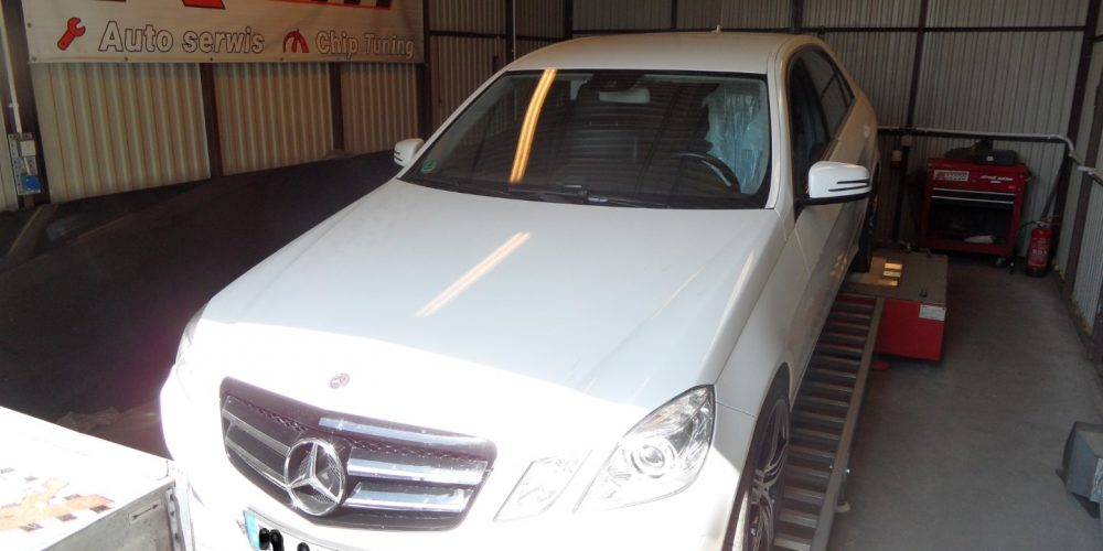 Chip Tuning Mercedes W212 E 220 CDI 7G-Tronic
