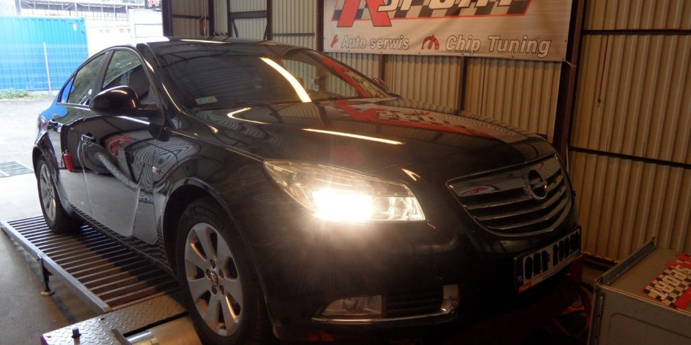 Chip Tuning Opel Insignia 1.4 Turbo 140 KM