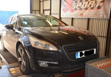 Chip Tuning Peugeot 508 GT 2.2 HDI 204 KM