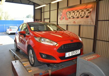Chip Tuning Ford Fiesta 1.0 Ecoboost 100 KM