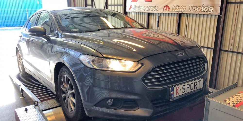 Chip Tuning Ford Mondeo MK5 2.0 TDCI 150 KM